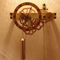 Деревянные часы №2