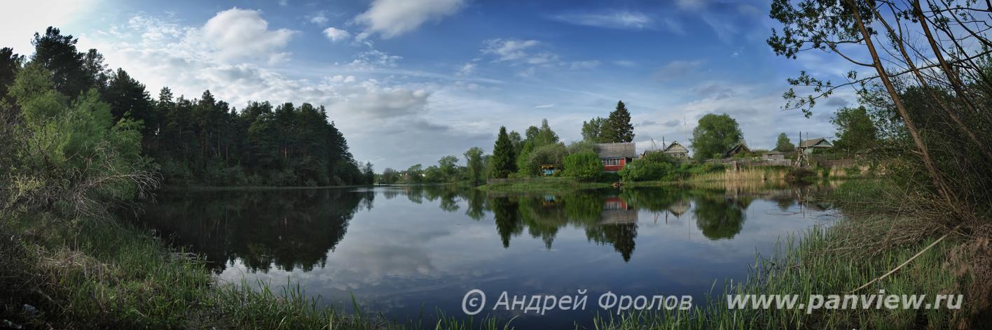 Ивановский ручей в Заборовье