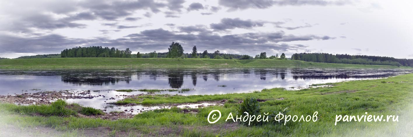Волга в Иванищах