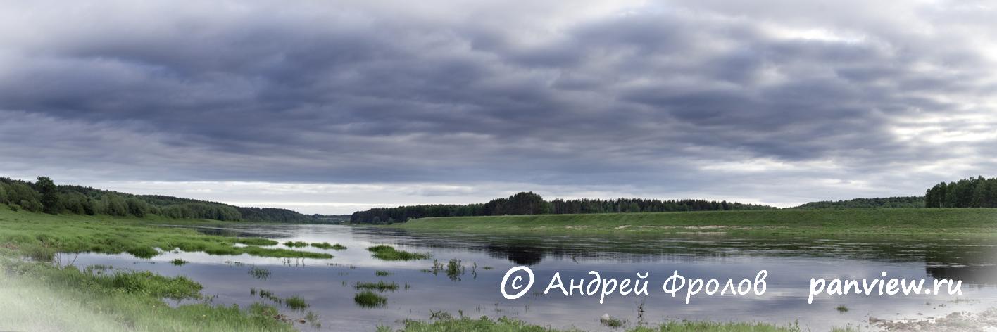 Волга под Старицей