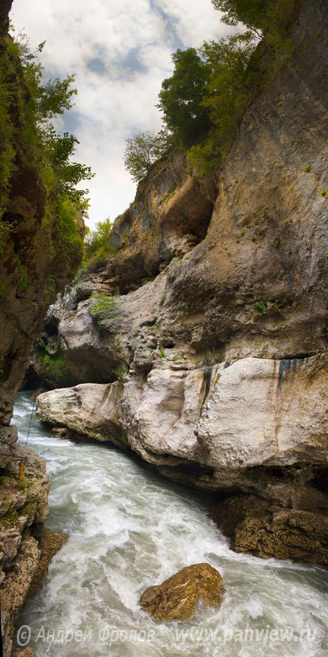 Каньон реки Белая